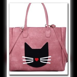 💖 LAST ONE! || Large Pink Tote Bag